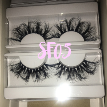 BossGirl Mink Lashes 25mm Fluffy Mink Fluffy Lashes Mink Lashes Bulk Eyelashes Mink Super Wispy Reusable Gorgeous Makeup 1 Pairs 1