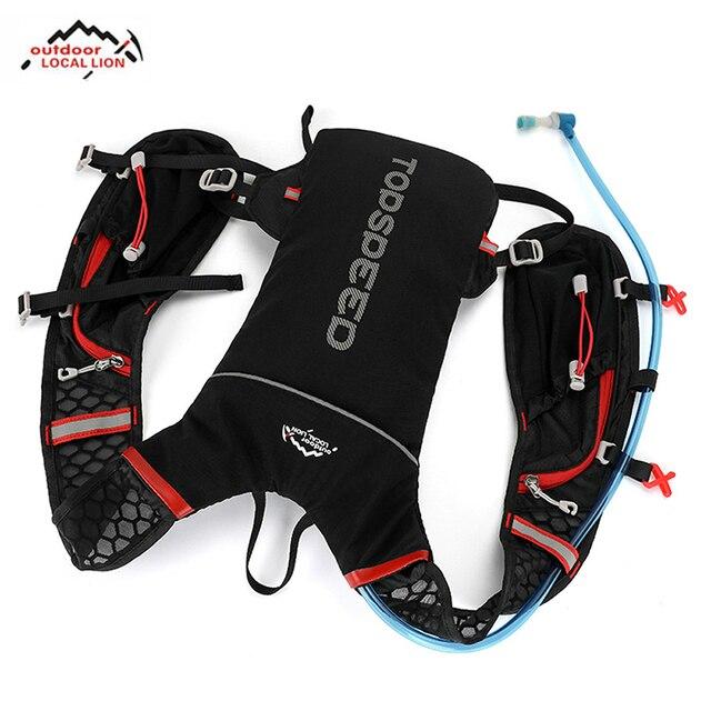 Cycling Hydration Backpack Water Bag Outdoor Jogging Sport Backpack Running Backpack Optional 1.8L Bladder Water Bag