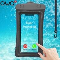 Funda de teléfono Airbag impermeable para iPhone 11 XR Samsung A51 A71 S20 Huawei P30 P40 Lite Redmi Note 8 9 Pro a prueba de agua