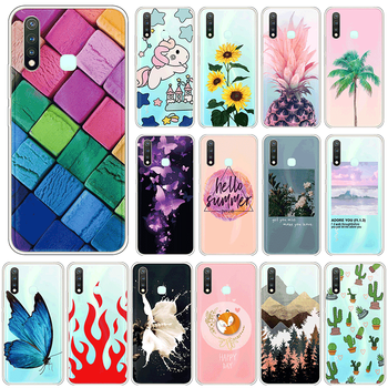 Silicone Case For vivo Y19 4G U3 Y5S TPU 6.53 Phone Cases For vivoY19 Y 19 vivoU3 U 3 vivoY5S Y 5S Soft Cute Cover Fundas Coque image