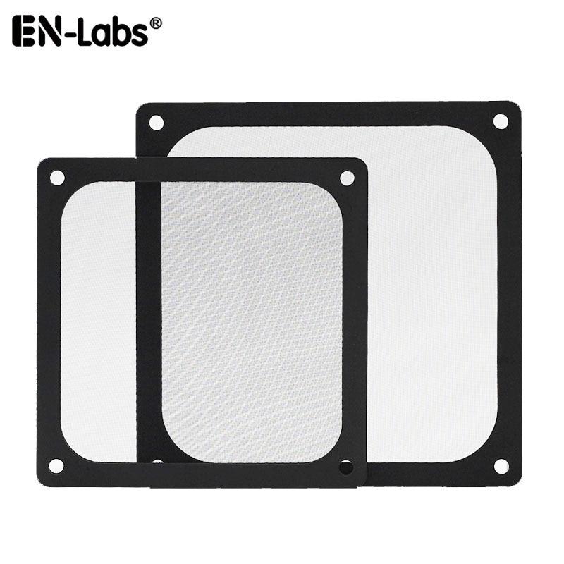 PC Dust Magnetic Filter 12CM 14CM 8CM W/ Screws,Magnetic Frame Black Mesh Dustproof Cover For Case Fan 120x120mm 140x140mm,80x80