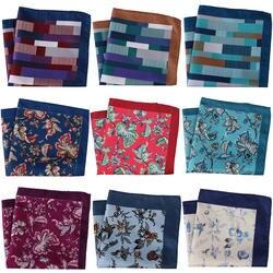 30 см роскошные мужские карманные квадраты большой мужской платок мужской цветочный геометрический шарф Карманный платок полотенце для