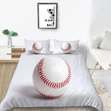Sport Bedding Set 3D Baseball Simple Fashionable D