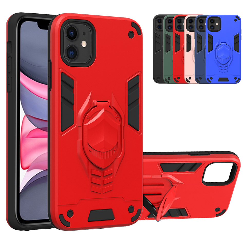 Back Cover Slim Case For Iphone 11 Pro Max XS Max XR X XS 7 8 Plus Stand Cover For LG K31 K51 V50S G8X K40 K30 2019 V60 Thinq 5G