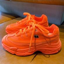 Fashion Chunky Sneakers Women Vulcanize Shoes
