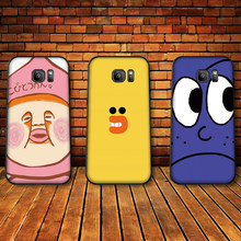 Cute cartoon characters Case For Samsung A10 A20 A30 A40 A50 A60 Cover A3 A5 6 2018 A8 A6 Plus MJ M40 Coque Funda(China)