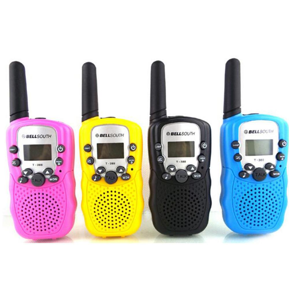 1Pcs Children Walkie Talkie Toy Handheld Wireless Mobile Phone Talking Toy For Kids Wireless Reception Range 3 Km