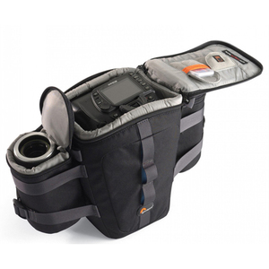 Image 3 - Lowepro Outback 100 Digitale Slr Camera Taille Packs Case Beltpack Bag Camera Schoudertas Outback 200 Voor Canon Nikon