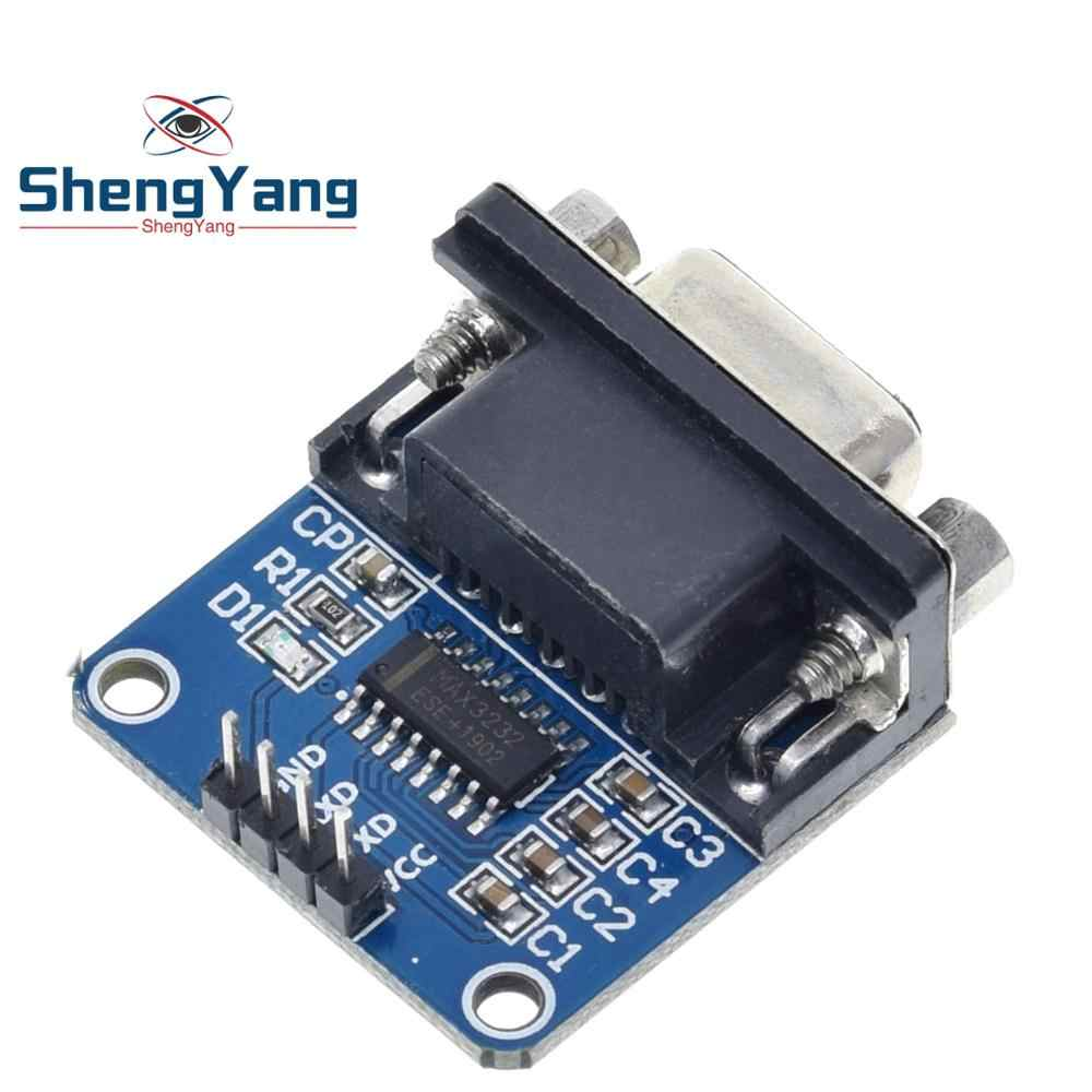 Cuasting MAX3232 RS232 Serial Port To TTL Converter Module DB9 W// 4 Jump Cables