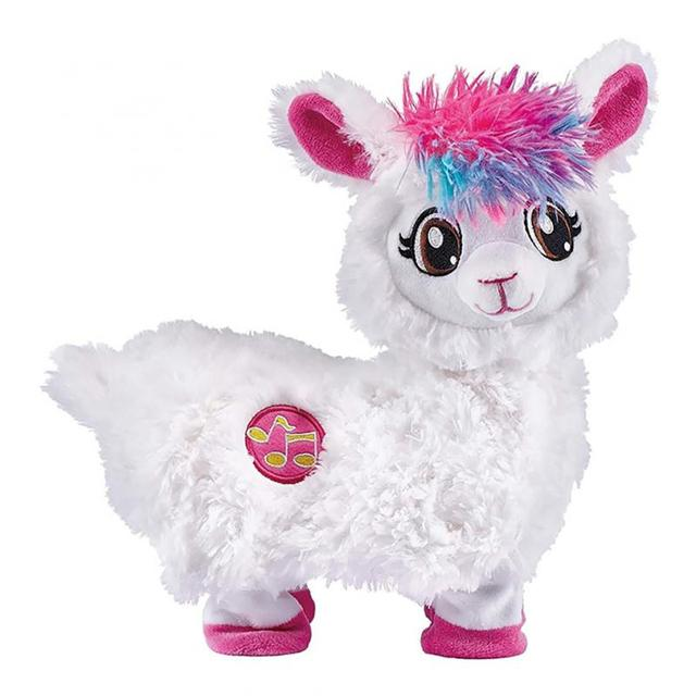 Pets Alive Boppi The Booty Shakin Llama Battery-Powered Dancing Robotic Toy By Zuru Collectible Toy Anime Figure Toys Gift 1