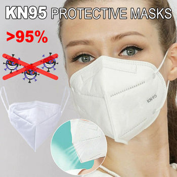 Reusable KN95 Mask FACE Protection Anti Dust PM2.5 Filter Particulate Respirator