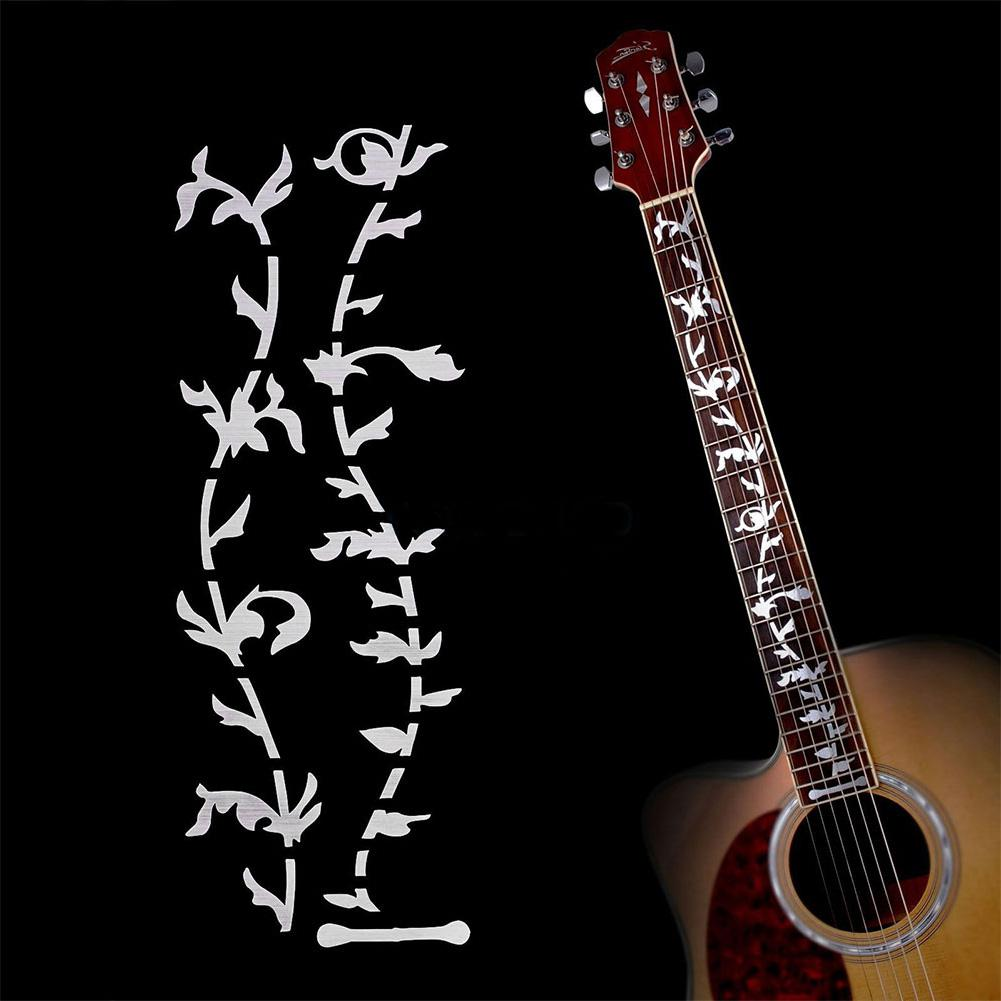 Electric Acoustic Guitar Stickers Inlay Decal Ultra Thin Fretboard Guitarra Sticker Guitar Part Strings Instrument Accessories