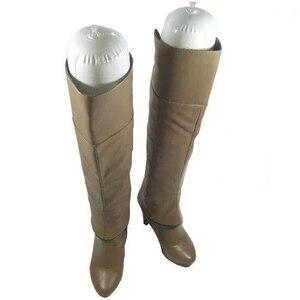 Image 5 - 12 Pairs, beyaz Film şişme bot sedye Shaper ayakkabı ağacı 50cm