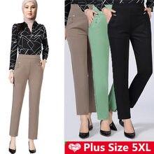 Мусульманские модные однотонные контрастные обтягивающие брюки