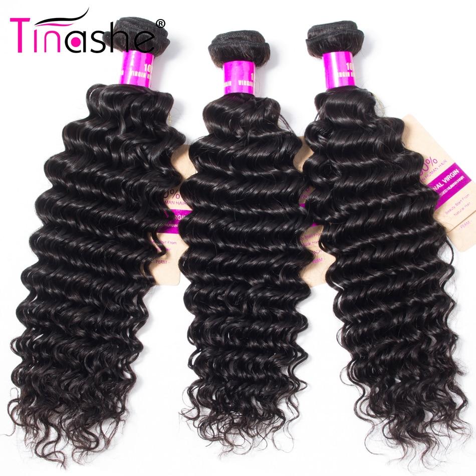 H5469705b728745b6a9a218ded802c60fU Tinashe Deep Wave Bundles With Closure 5x5 6x6 Lace Closure And Bundles Remy Brazilian Human Hair Weave 3 Bundles With Closure