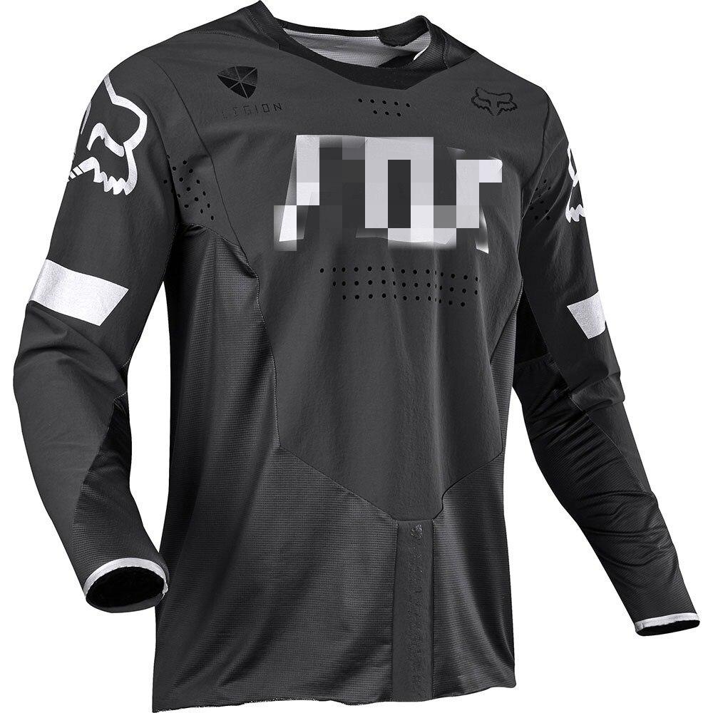 Men's Mountain Bike Clothing Cycling Bicycle T-shirt Moto Riding Long Sleeve Motocross Sportwear Jersey Bike Clothes C425