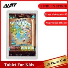 цена на ANRY 3G Phone Call Tablet MTK6580 Quad Core Android Tablets 1GB RAM 16GB ROM 10.1 Inch 1280x800 Display PC Tab Dual SIM