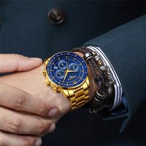 Image 4 - Relogio Masculino NIBOSI marque nouvelle mode hommes montres Top marque de luxe étanche Quartz montre hommes grand cadran affaires hommes montre
