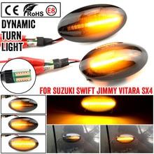 Dynamic Side Marker LED Turn Signal Light For Suzuki Swift MZ EZ FZ Jimny Splas Grand Vitara APV Arena Alto SX4 S Cross XL7
