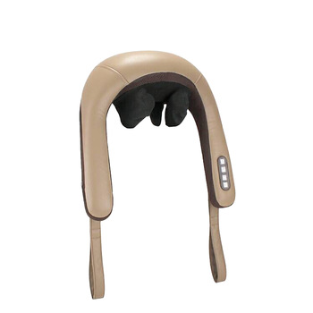 Neck Massager Heating Kneading Infrared Therapy Shiatsu Simulation Massage For Neck Relieve Fatigue Health Care Instrument