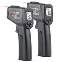 -50-380/550 градусов ручной цифровой инфракрасный термометр Бесконтактный лазерный ЖК-дисплей ИК-температуры пистолет инструменты