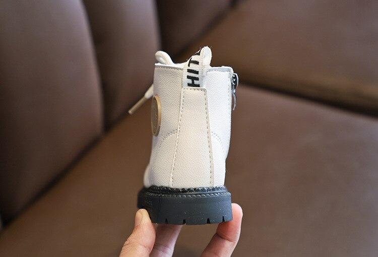 inverno das crianças tornozelo botas de inverno