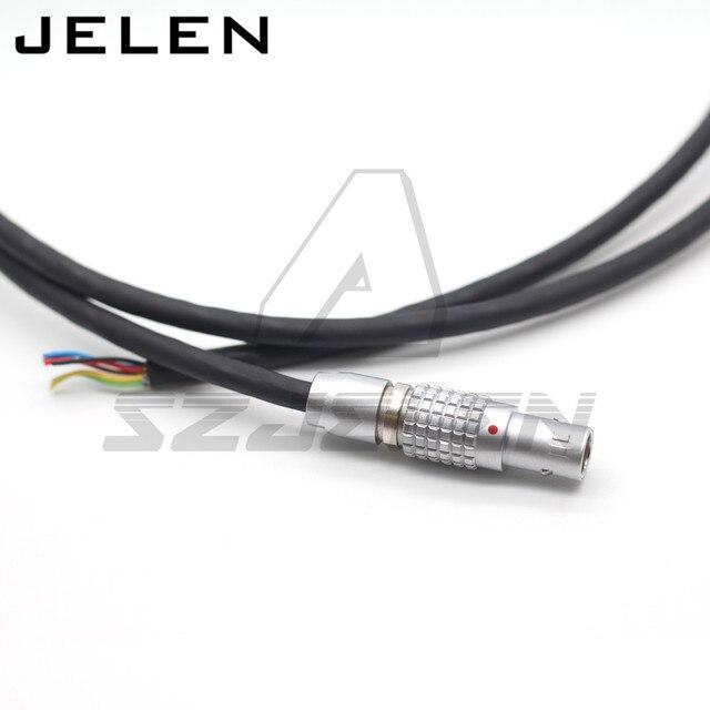 ARRI ALEXA MINI LF Camera Audio Line,New 0B 6Pin Male Connector Audio Port  Double Track LINE IN Cable for  ARRI ALEXA MINI LF
