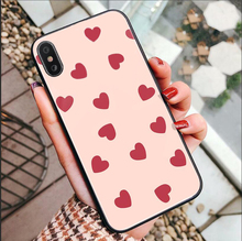 Case For iPhone 6 6s 7 8 Plus XR XS max Black silicone cases PINK VS Brand NEW for Samsung galaxy s8 S7 S9 S10 P case