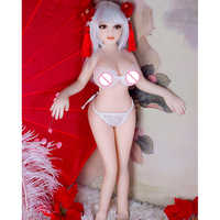 Free Shipping 65cm Mini Sex Doll Japan 18 Sexy Anime Real Vagina Ass Big Boobs Small Love Doll For Young Man