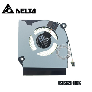 Image 2 - مروحة تبريد كمبيوتر محمول DC05V 1.00A NS85C28 18K16 6033B0072301 4Pin مؤشرة على شكل ورقة معدنية