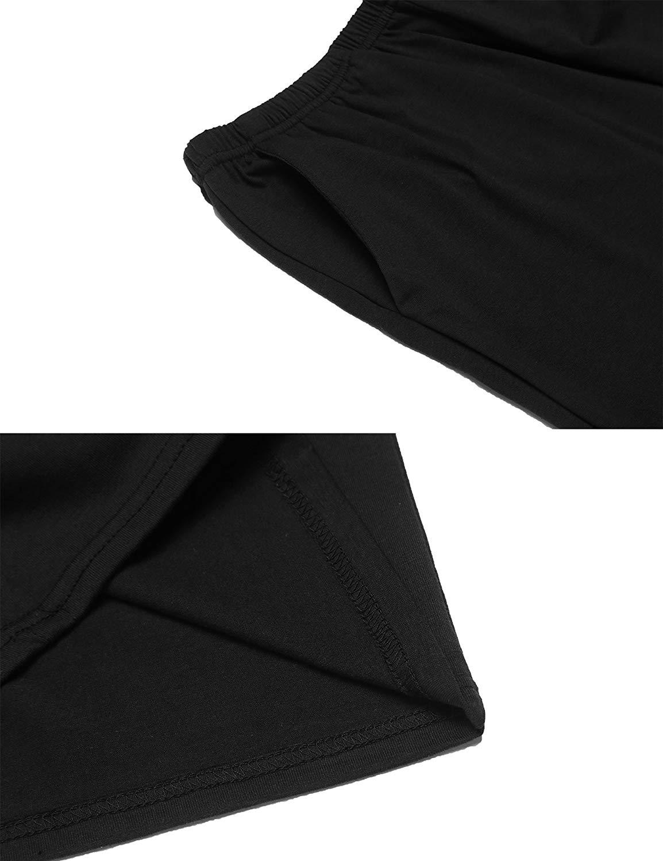 5 Pieces Women's Soft Sleep Shorts Cotton Solid Pants S-XXL2019 Cargo Pants  Overalls
