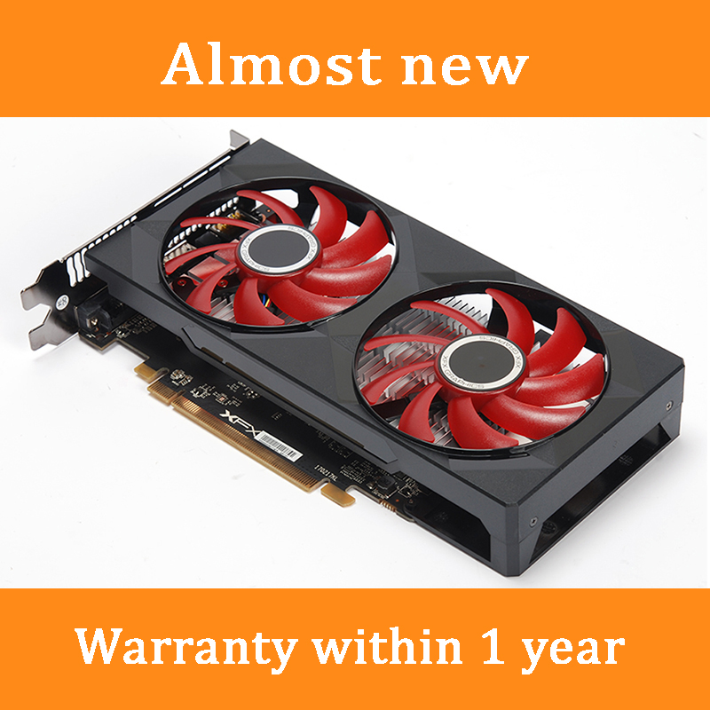 90 New Original XFX RX 580 4GB Video Cards RX580 4GB Screen Graphics Cards GPU Desktop PC Computer Game Map