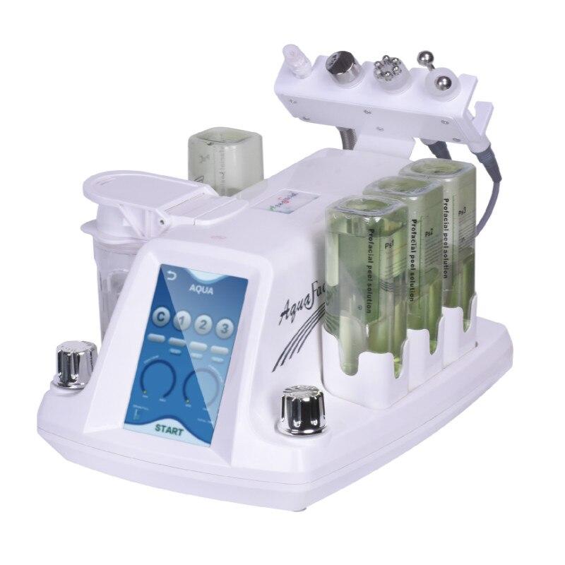 Гидра дермабразия RF био лифтинг спа машина для лица/Аква Очищающая машина для лица/водный Пилинг дермабразия