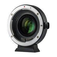 Viltrox EF EOS M2 Tiêu Giảm Tốc Tăng Áp Adapter Tự Động 0.71x Cho Canon EF Mount Ống Kính Camera Eos M m6 M3 M5 M10 M100 M50