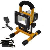 4pcs 10W 20W 30W 50W Exterieur 85-265v Recarregável Spot Refletor Da Bateria Ao Ar Livre holofote LED Flood Luz Da Lâmpada Quente