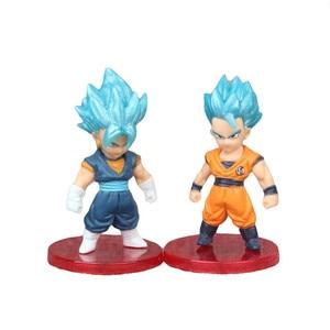 Image 2 - 3 pçs/set Luta Contra a Forma do Anime Dragon Ball Z Super Saiyan Goku Vegeta Preto Figura Coleção Ação PVC Modelo Toy Kid Presente