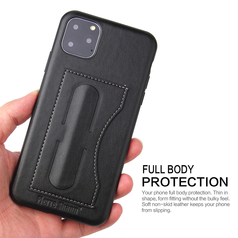 Fashion Faux Leather Card Holder Case for iPhone 11/11 Pro/11 Pro Max 8