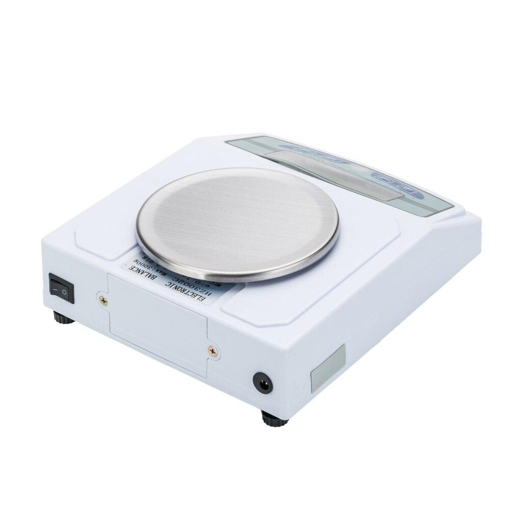 Balances portatives de bijoux d'échelle de laboratoire d'équilibre électronique de la haute précision 3000g/0.01g avec l'écran numérique d'affichage à cristaux liquides - 6