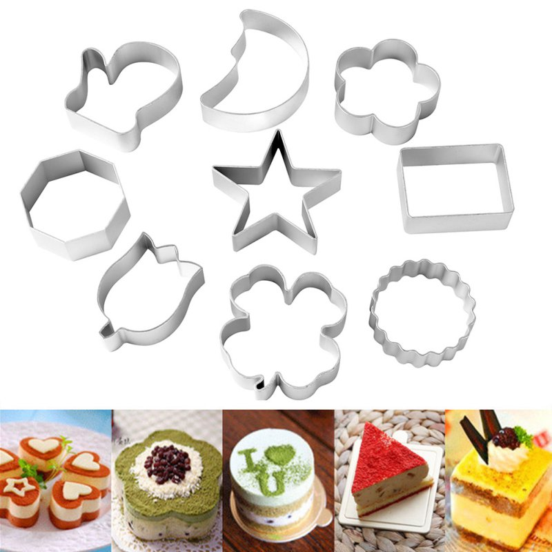 41 Pieces/Set Cookies And Muffins Craft Cute Shape Sugar craft Cake Decorating Fondant Cutters Tool Z