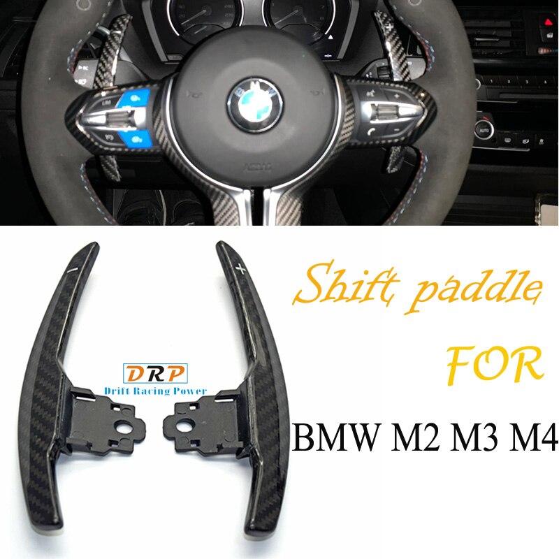 1 set Carbone changement pagaie pour BMW F36 F21 F22 F32 F30 F02 F80 F11 F06 F20 F23 F10 F12 F26 F15 M3 M4 M5 M6 Volant