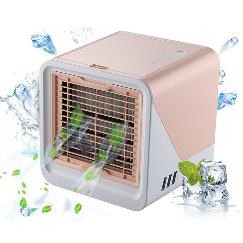 Hot TOD-New 2019 Air Cooler Small Air Conditioning Appliances Mini  Air Cooling Fans Summer Portable Conditioner For Home Office