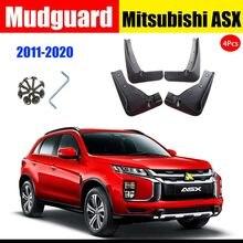 Para-choque do carro para mitsubishi asx 2011-2020 mud flaps respingo guardas mud flap mudguards acessórios de automóvel lama respingo