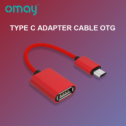 OTG Type C Adapter Cable Magnetic Charger Type C To Usb Accessories For Mobile Phones  For Xiaomi Huawei  Samsung Smart Phone