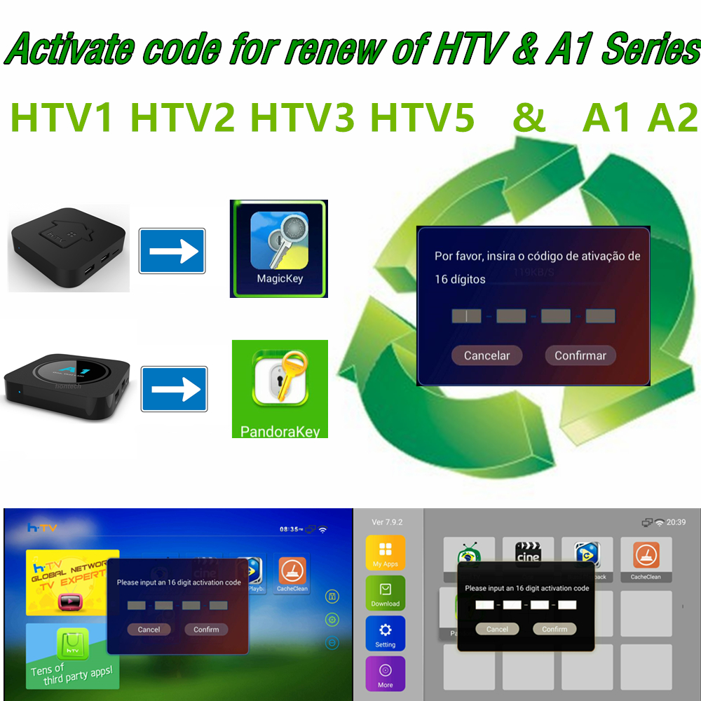 HTV BOX Tigre2 Tigre Box HTV3 HTV5 HTV6 + HTV6 HTV A3 A2 BOX Brazil Tv Yearly Fees Subscription