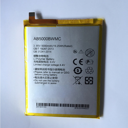 100% Original 5000mAh AB5000BWMC Battery For Philips XENIUM S386 X588 CTS386 CTX588 Phone Latest Production High Quality Battery
