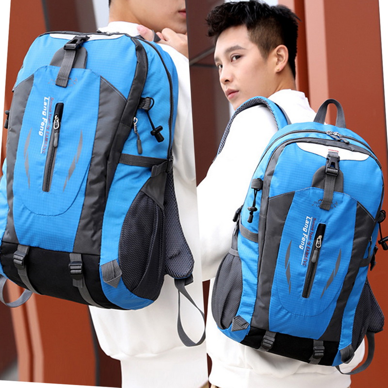 Litthing Men 40L Waterproof travel Backpack   Backbag for Hiking Cycling  Outdoo