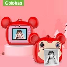Photo-Camera Digital Instantane Print for Kids Girls with Gift Video Children's