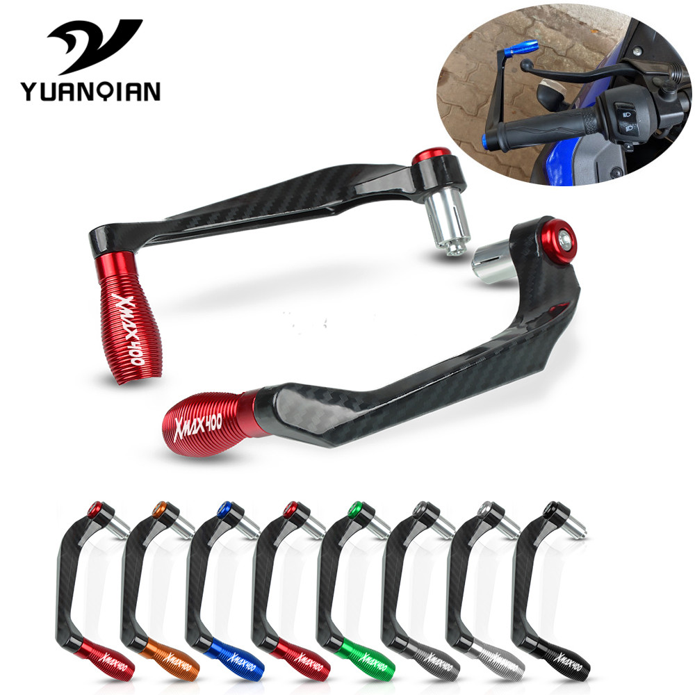 Motorcycle Accessories Brake Clutch Levers Protection Motorbike Lever Guard Handlebar Grip Guard For YAMAHA X-MAX 400 XMAX 400