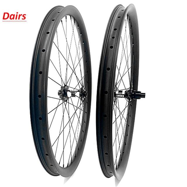 $ US $620.85 29er carbon mtb wheels DT350S boost 110x15 148x12 6-bolt bicycle mtb wheels 35x25mm 1420 spoke Mountain Bikes wheels