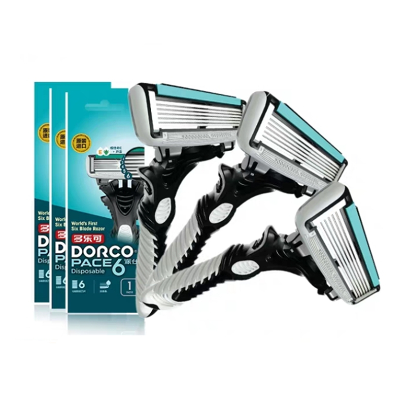 154.54руб. 40% СКИДКА|Мужские бритвенные лезвия, кассеты для бритья, электрическая бритва DORCO Pace, 6 слоев, прямая бритва, машина для бороды, присоска, держатель для бритвы|Аксессуары и принадлежности для личной гигиены| |  - AliExpress